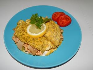 Tortilje s chia sjemenkama i nadjevom od puretine s gljivama